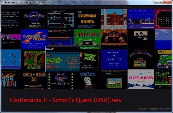 Nemulator nintendo nes emulators zophar 39 s domain - Emulateur console android ...