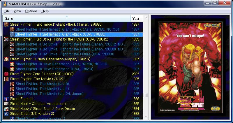 MAME 0.192 (64-bit) Download for Windows / FileHorse.com